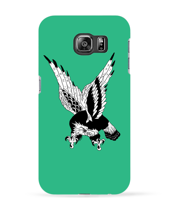 Coque 3D Samsung Galaxy S6 Eagle Art - Nick cocozza