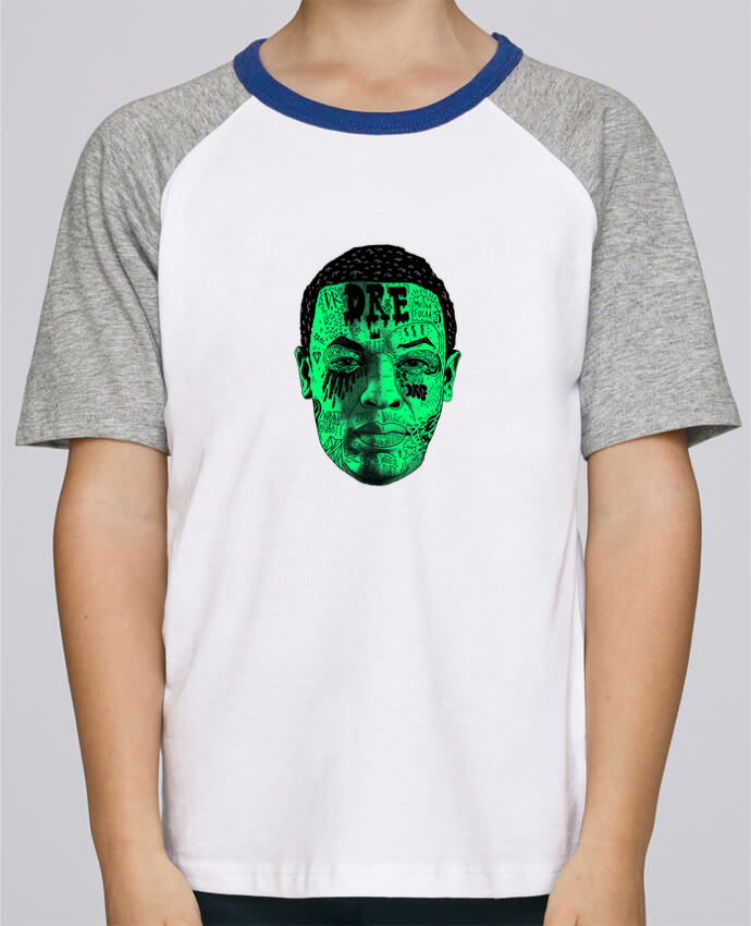Tee-Shirt Enfant Stanley Mini Jump Short Sleeve Dr.Dre head par Nick cocozza