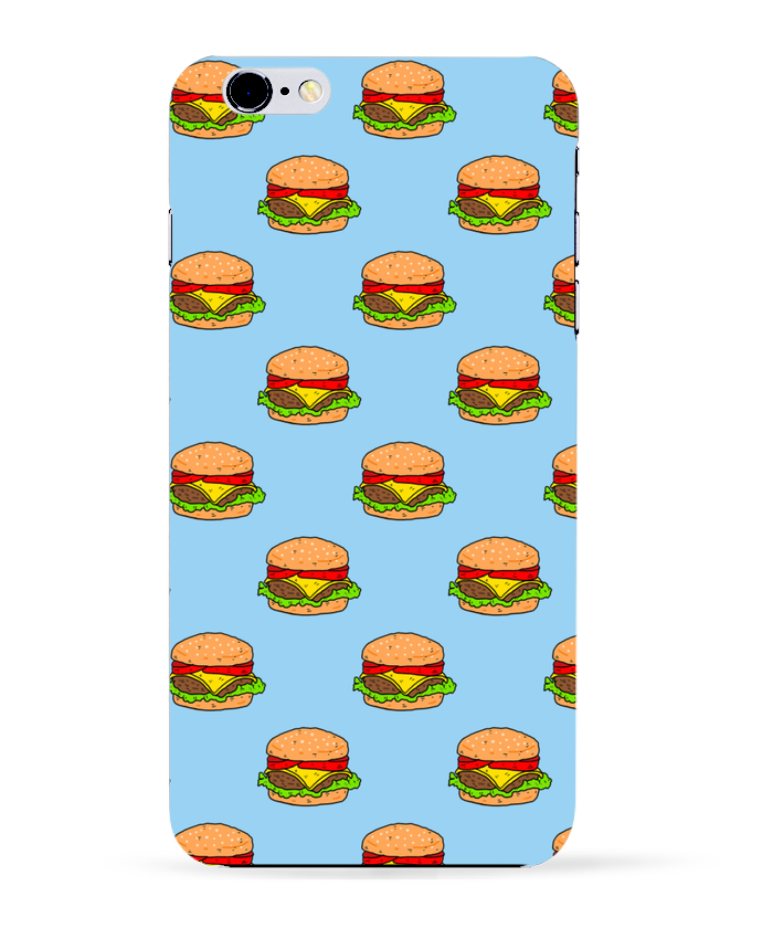 3823607 coque 3d iphone 6 plus blanc burger by nick cocozza