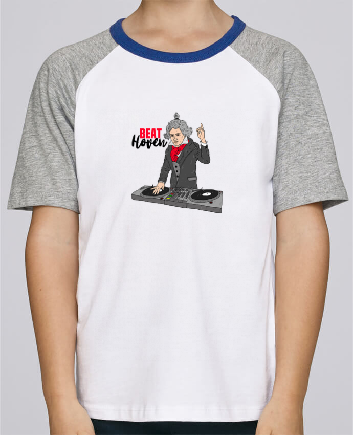 Tee-Shirt Enfant Stanley Mini Jump Short Sleeve Beat Hoven Beethoven par Nick cocozza