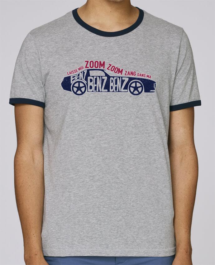 T-Shirt Ringer Contrasté Homme Stanley Holds Dans ma Benz benz benz pour femme par tunetoo