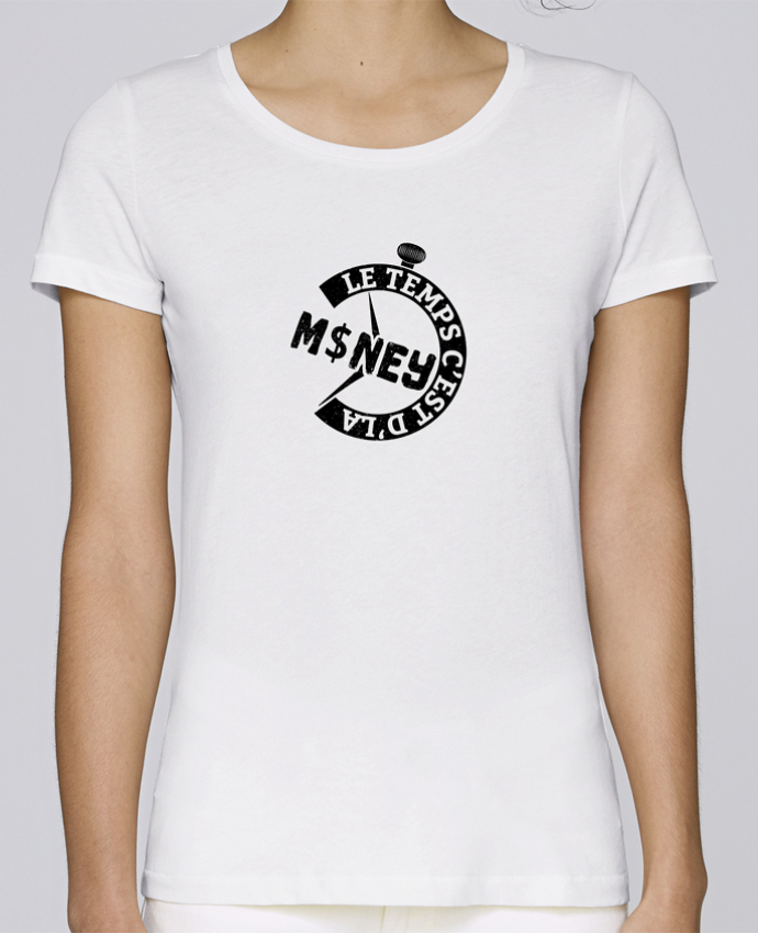 T-shirt Femme Stella Loves PNL Le temps c'est d'la money par tunetoo