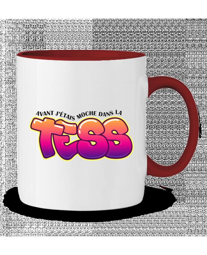 Mug en Céramique Bicolore PNL Moche dans la Tess tunetoo
