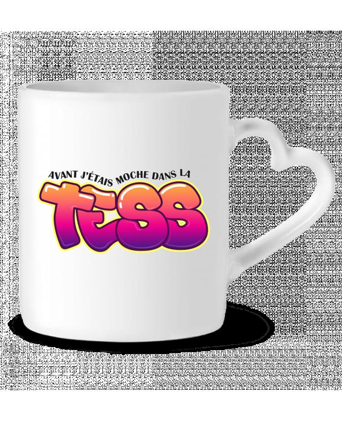 Mug Coeur PNL Moche dans la Tess par tunetoo