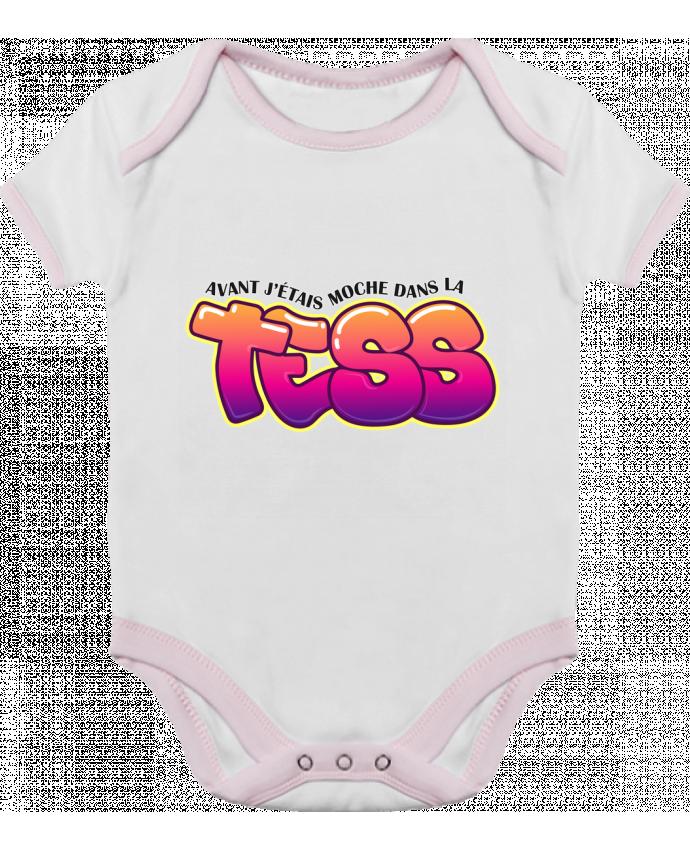 Body Bébé Contrasté PNL Moche dans la Tess par tunetoo