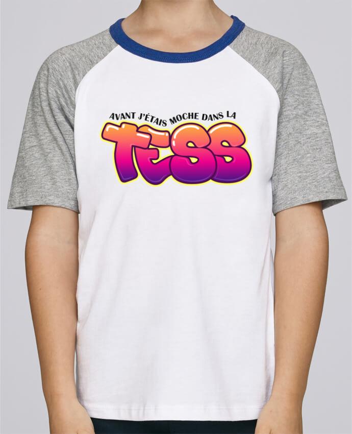 Tee-Shirt Enfant Stanley Mini Jump Short Sleeve PNL Moche dans la Tess par tunetoo
