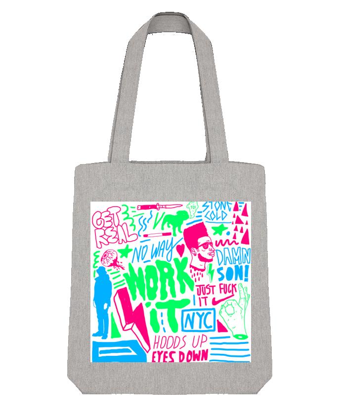 Tote Bag Stanley Stella Neon Street Art Pattern par Nick cocozza