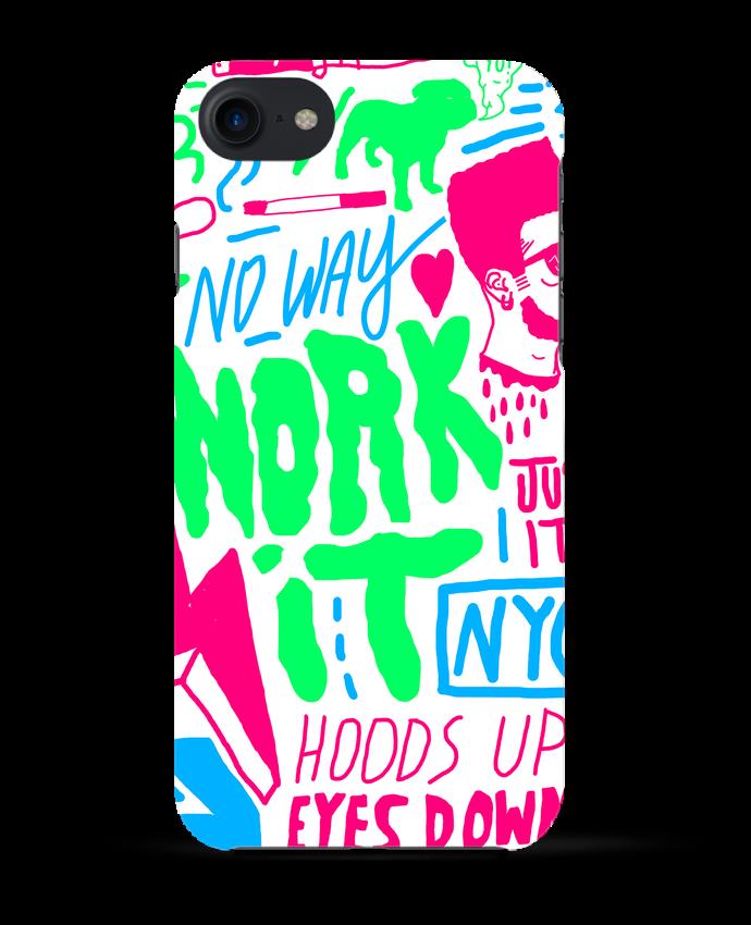 Coque 3D Iphone 7 Neon Street Art Pattern de Nick cocozza