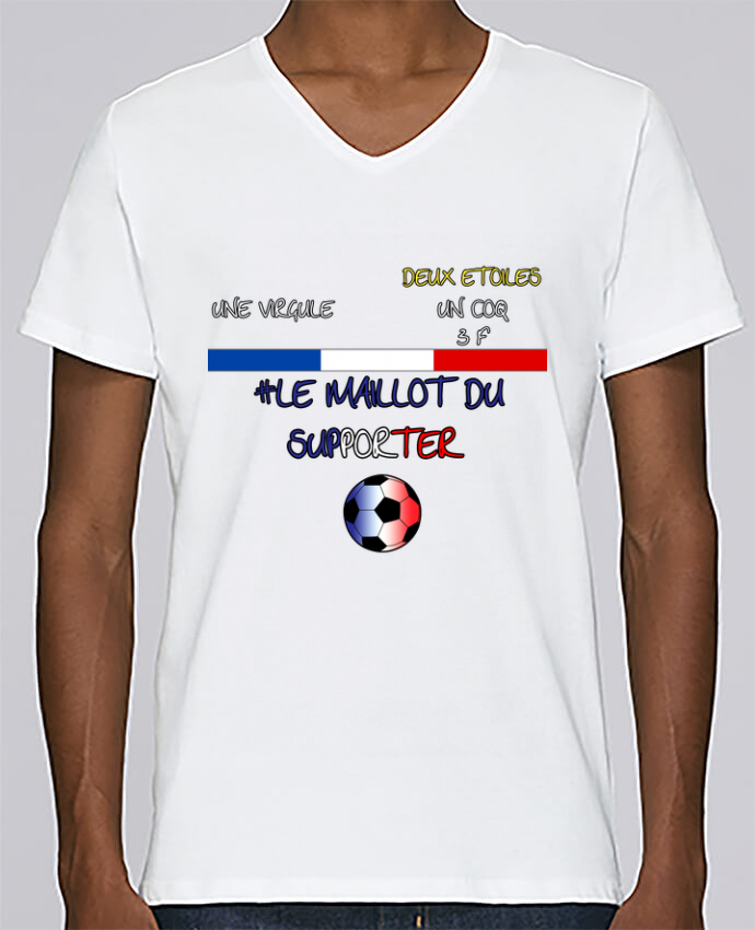T-shirt Col V Homme Stanley Relaxes LE MAILLOT