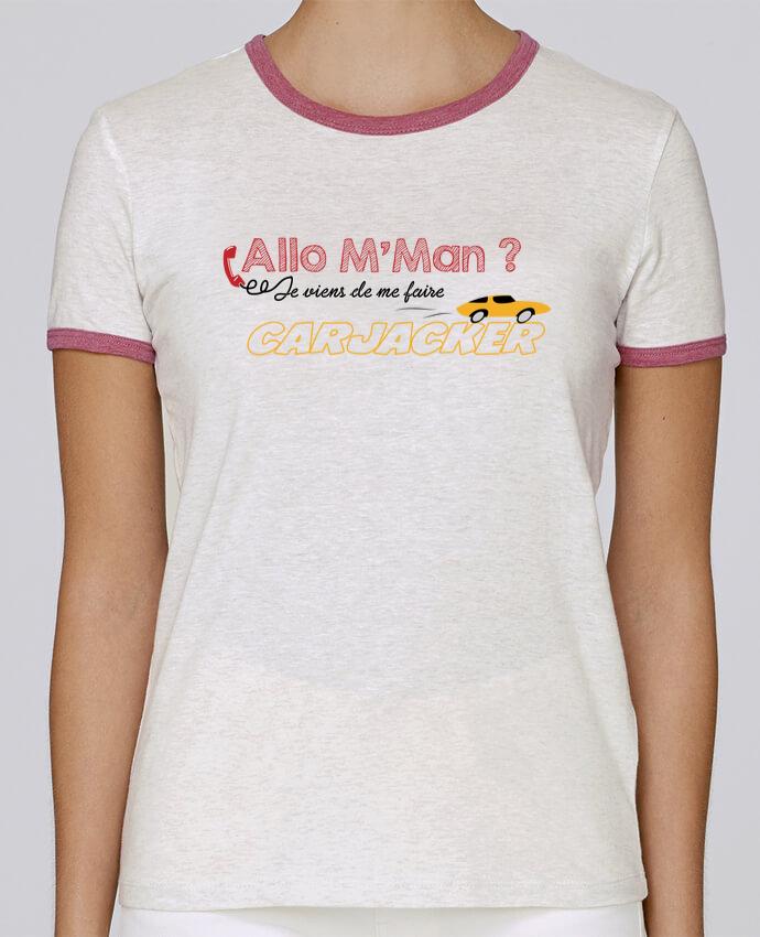 T-shirt Femme Stella Returns Carjacker l'auto Citations Dikkenek pour femme par tunetoo