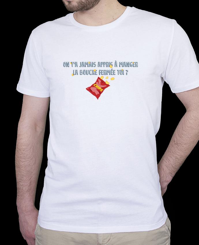 T-Shirt Homme Stanley Hips Manger la bouche fermée Citation Dikkenek par tunetoo