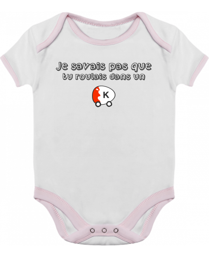 Body Bébé Contrasté Voiture Kinder Citation Dikkenek par tunetoo