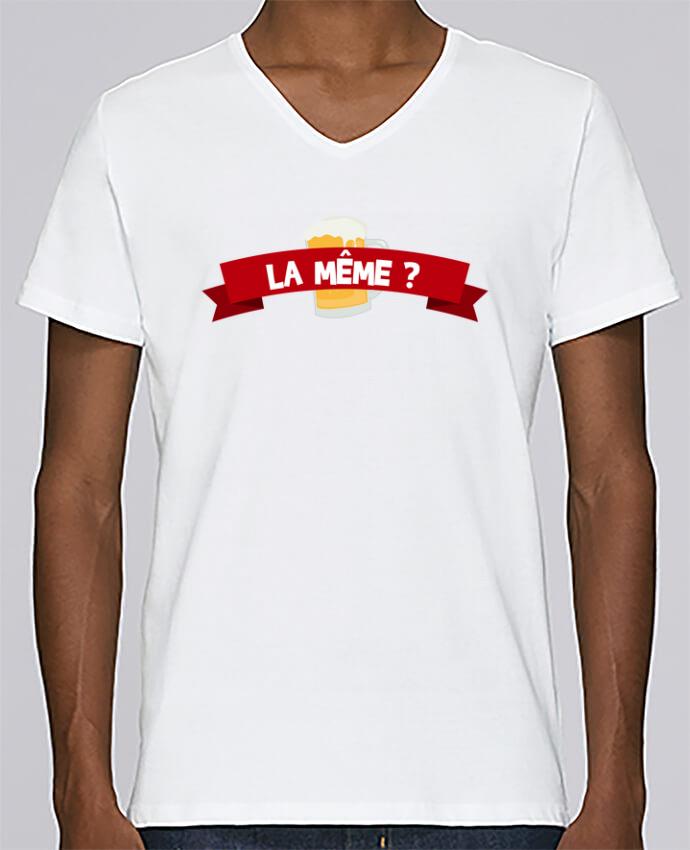 T-shirt Col V Homme Stanley Relaxes La même ? Citation Dikkenek par tunetoo