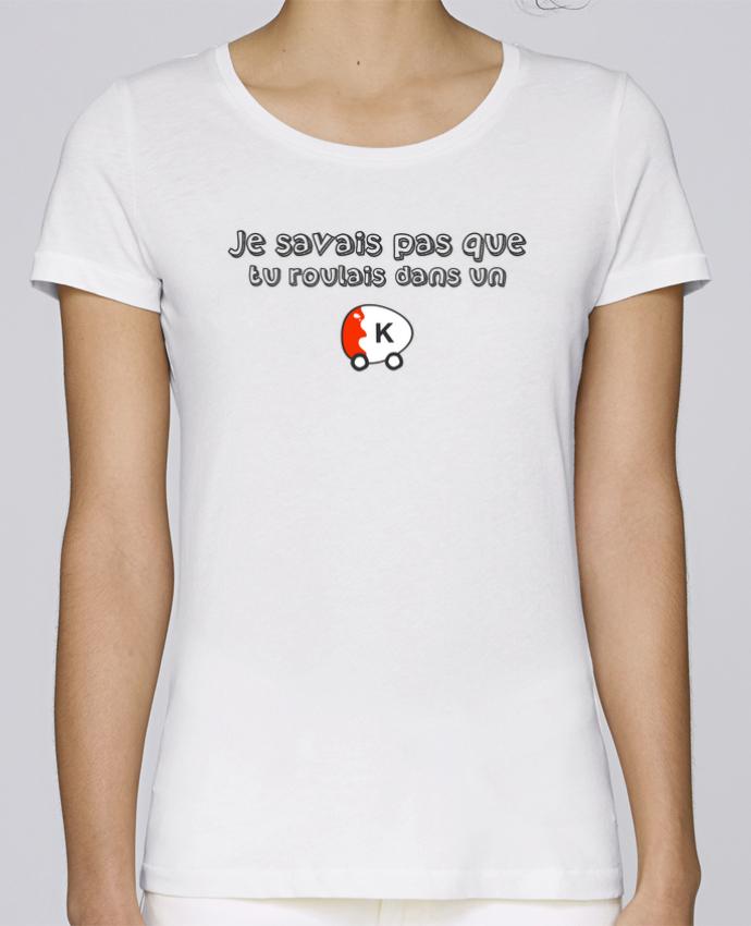 T-shirt Femme Stella Loves Voiture Kinder Citation Dikkenek par tunetoo
