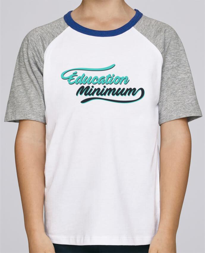 Tee-Shirt Enfant Stanley Mini Jump Short Sleeve Education minimum citation Dikkenek par tunetoo