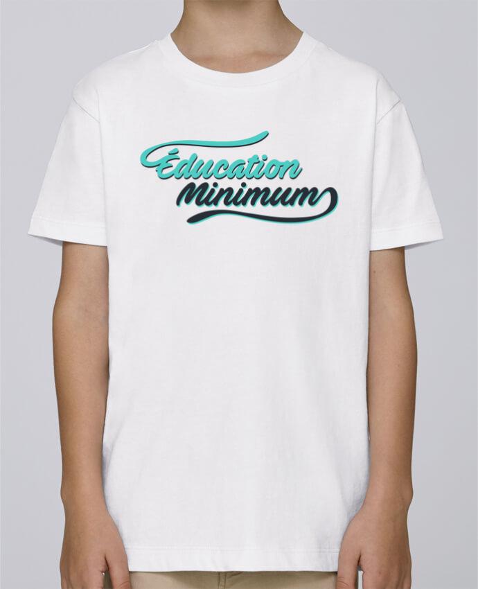 Tee Shirt Garçon Stanley Mini Paint Education minimum citation Dikkenek par tunetoo