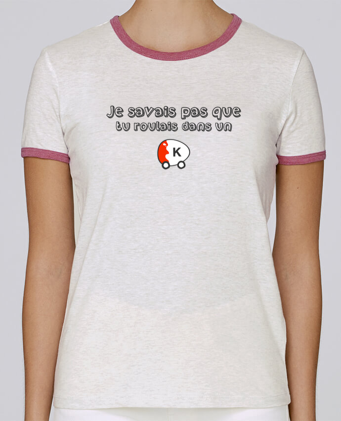 T-shirt Femme Stella Returns Voiture Kinder Citation Dikkenek pour femme par tunetoo