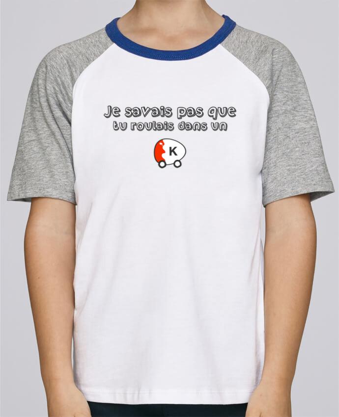 Tee-Shirt Enfant Stanley Mini Jump Short Sleeve Voiture Kinder Citation Dikkenek par tunetoo