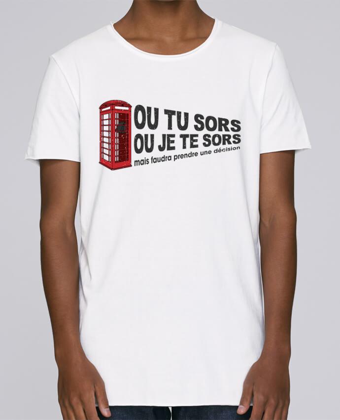 T-shirt Homme Oversized Stanley Skates Ou tu sors ou j'te sors Citation Dikkenek par tunetoo