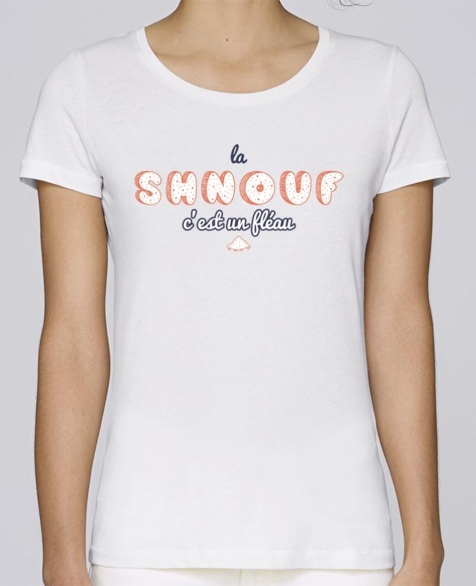 T-shirt Femme Stella Loves La shnouf c'est un fléau Citation Dikkenek par tunetoo