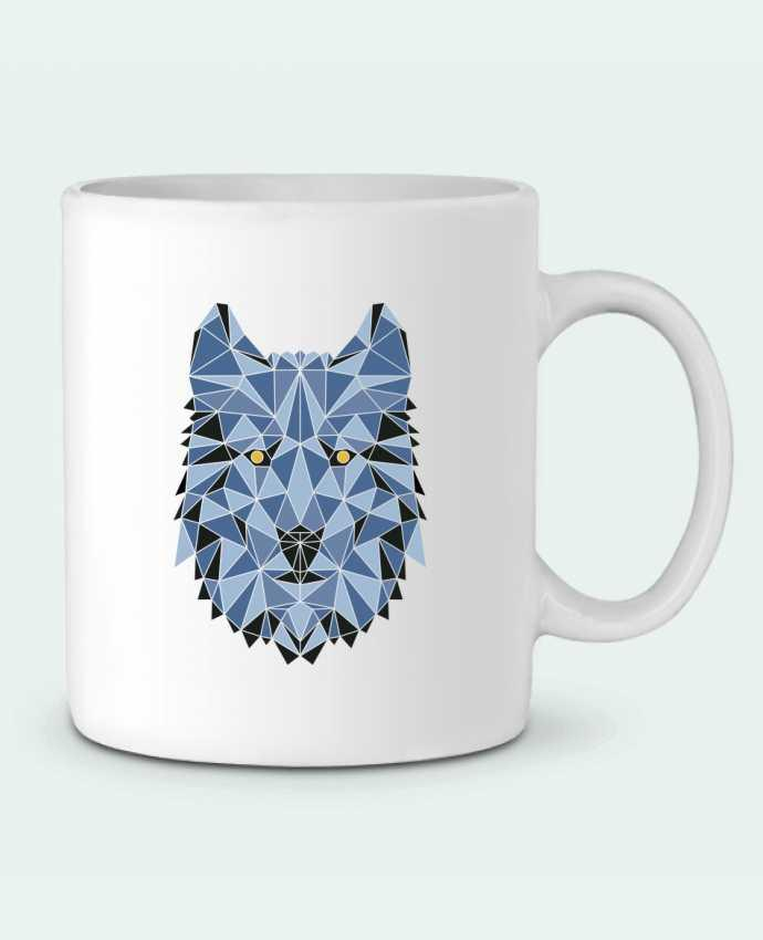 Mug en Céramique wolf - geometry 3 par /wait-design