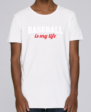 T-shirt Homme Oversized Stanley Skates Baseball is my life par Original t-shirt