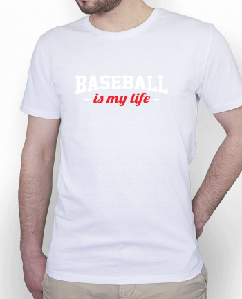 T-Shirt Homme Stanley Hips Baseball is my life par Original t-shirt