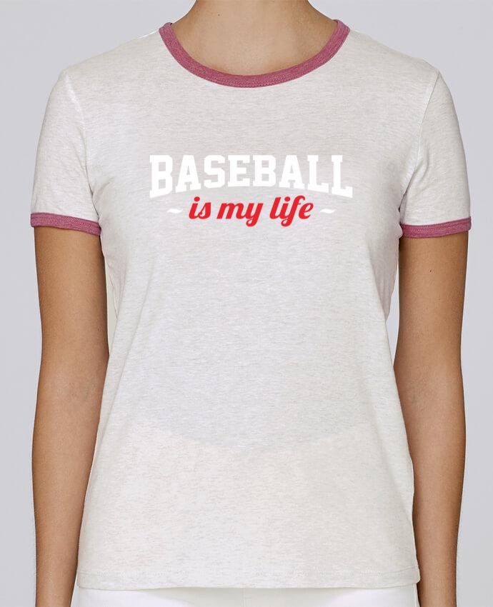 T-shirt Femme Stella Returns Baseball is my life pour femme par Original t-shirt