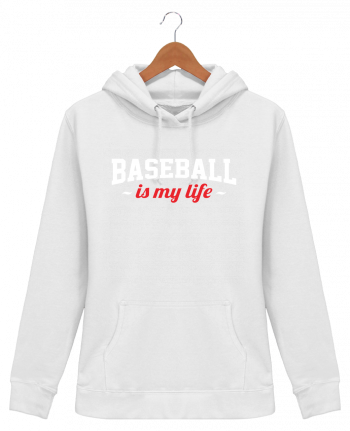 Sweat à Capuche Femme Baseball is my life - Original t-shirt