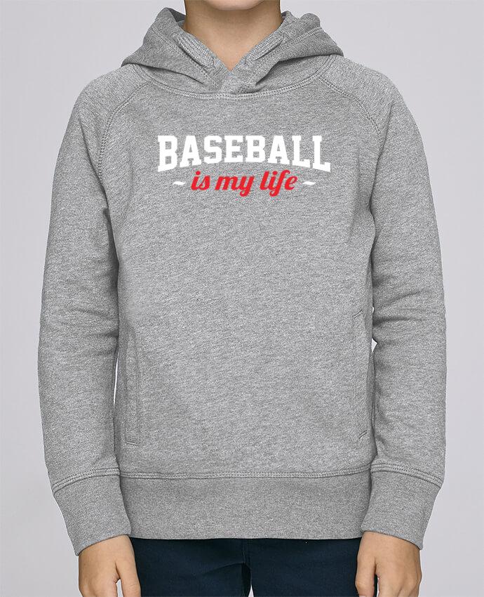 Sweat à Capuche Enfant Stanley Mini Base Baseball is my life par Original t-shirt