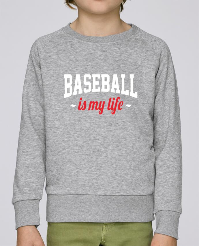 Sweat Col Rond Enfant Stanley Mini Scouts Baseball is my life par Original t-shirt