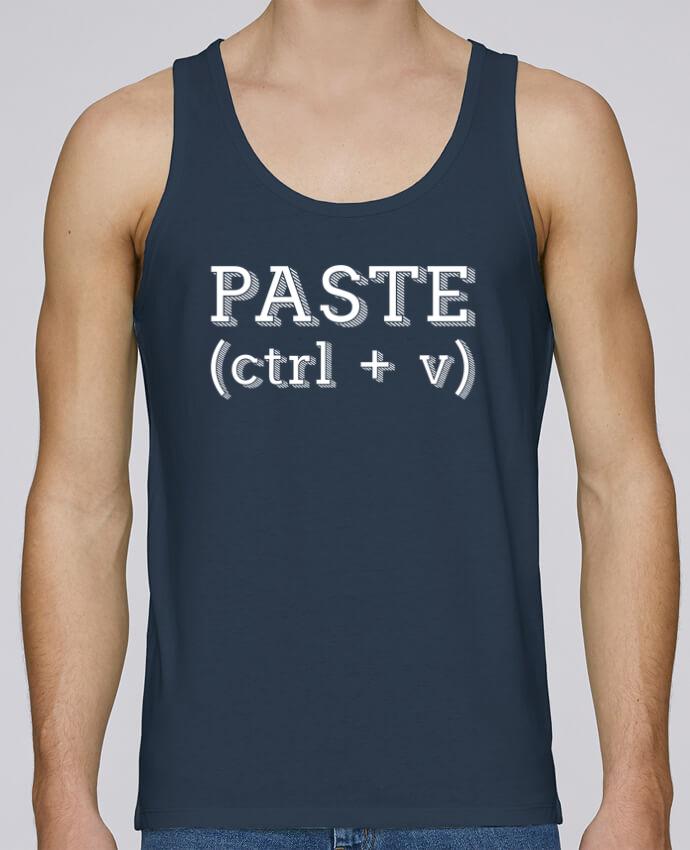 Débardeur Bio Homme Stanley Runs Copy paste duo par Original t-shirt 100% coton bio