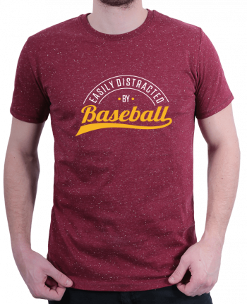 T-Shirt Homme Stanley Hips Distracted by Baseball par Original t-shirt