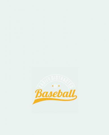 Sac en Toile Coton Distracted by Baseball par Original t-shirt