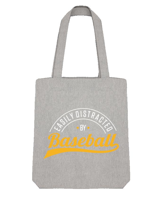 Tote Bag Stanley Stella Distracted by Baseball par Original t-shirt