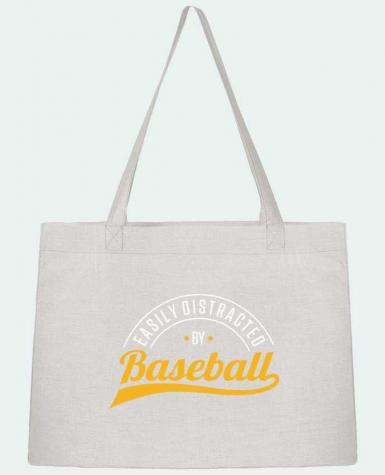 Sac Cabas Shopping Stanley Stella Distracted by Baseball par Original t-shirt