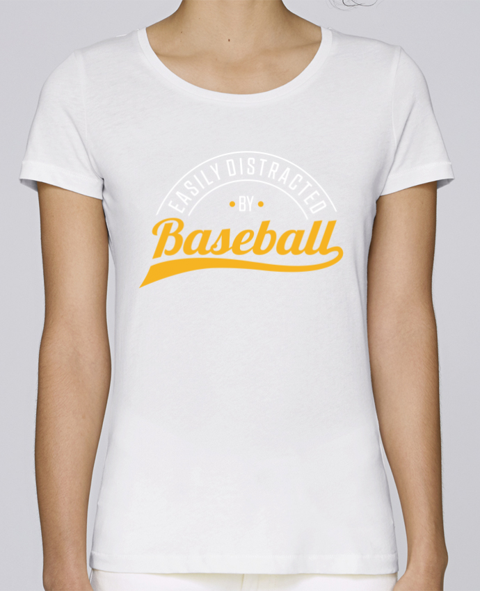 T-shirt Femme Stella Loves Distracted by Baseball par Original t-shirt