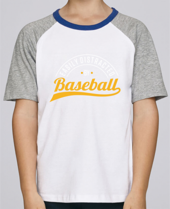 Tee-Shirt Enfant Stanley Mini Jump Short Sleeve Distracted by Baseball par Original t-shirt