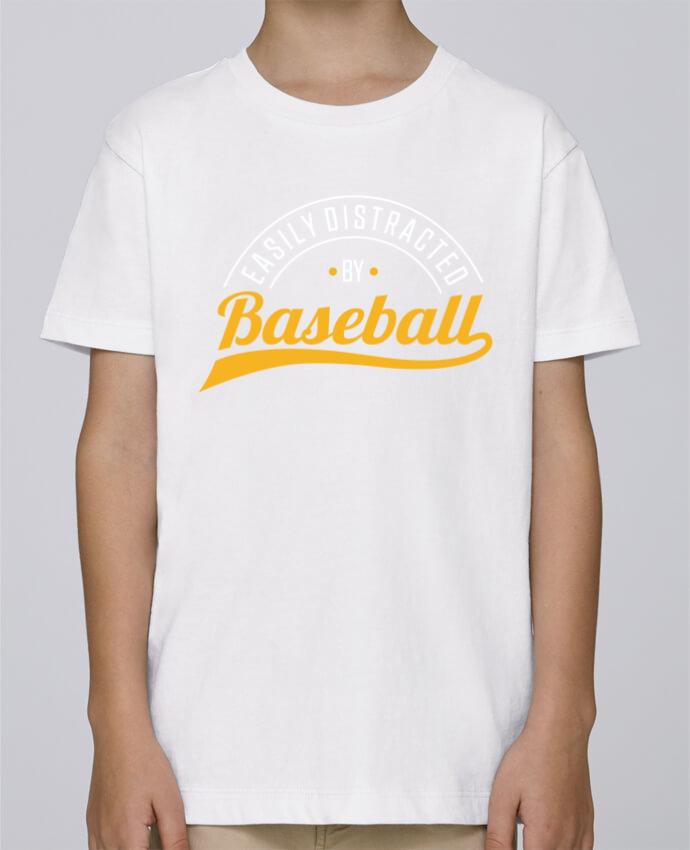 Tee Shirt Garçon Stanley Mini Paint Distracted by Baseball par Original t-shirt