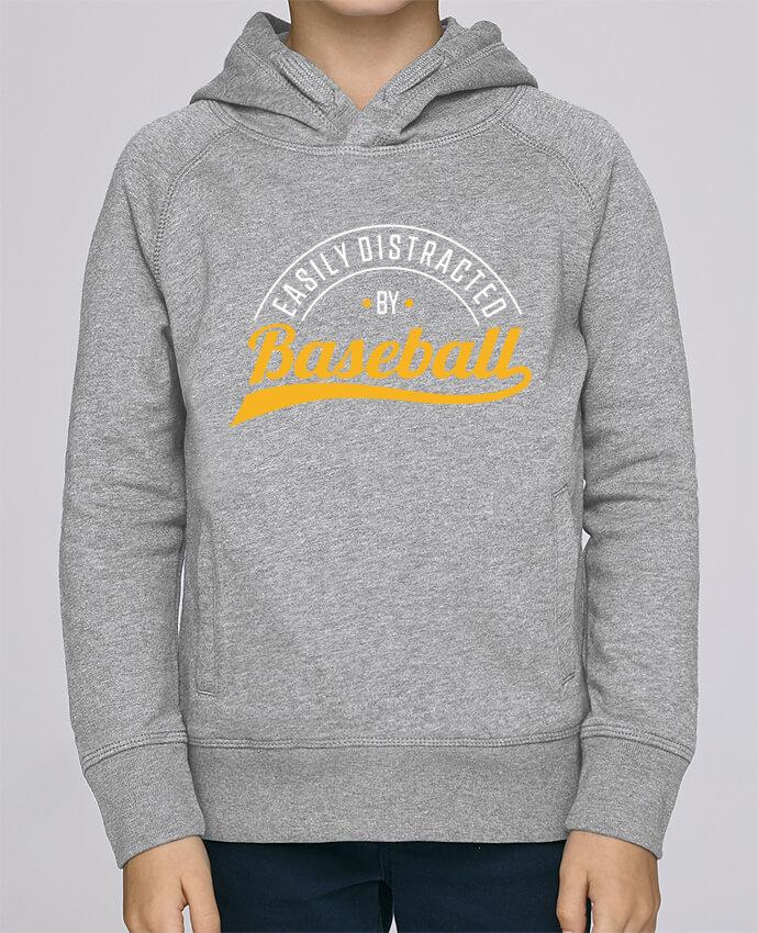 Sweat à Capuche Enfant Stanley Mini Base Distracted by Baseball par Original t-shirt