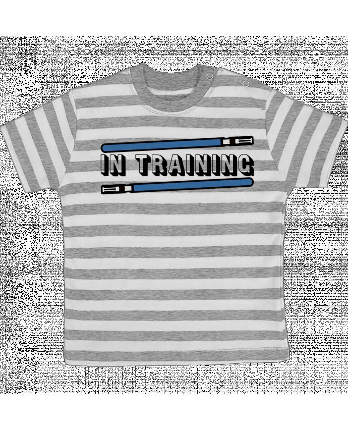 T-shirt Bébé à Rayures Jedi Duo par Original t-shirt
