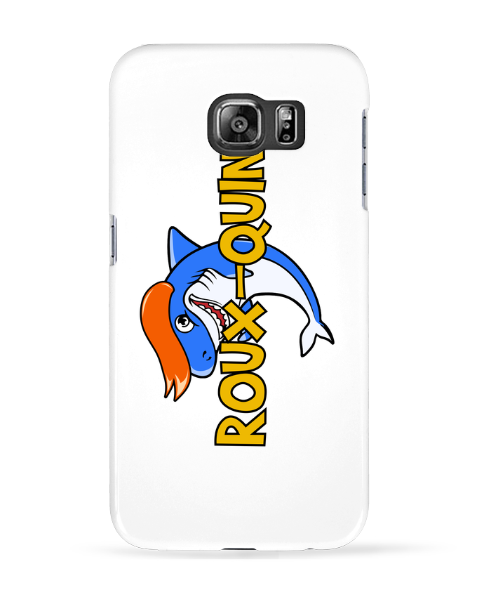 Coque 3D Samsung Galaxy S6 Roux-quin - tunetoo