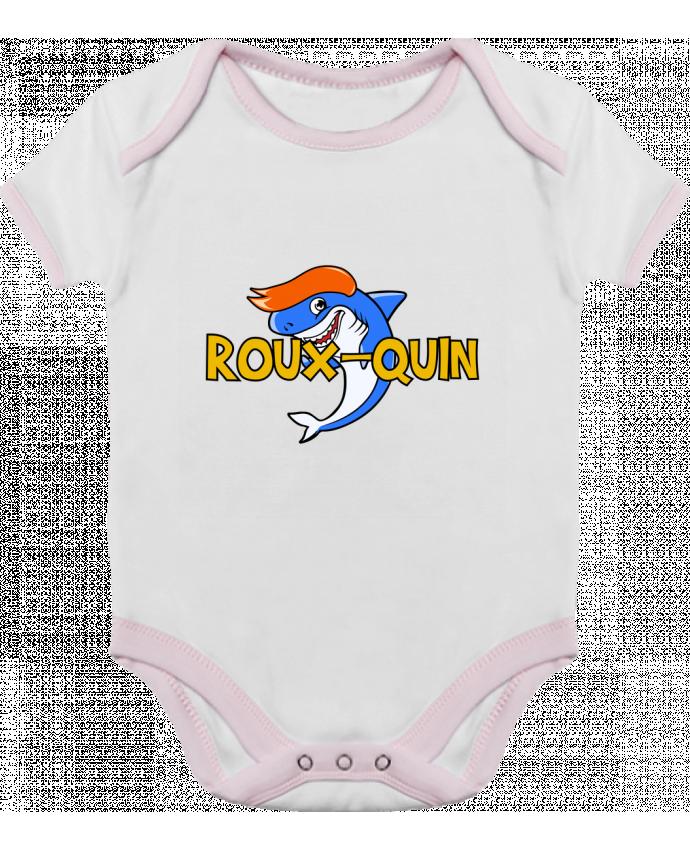 Body Bébé Contrasté Roux-quin par tunetoo