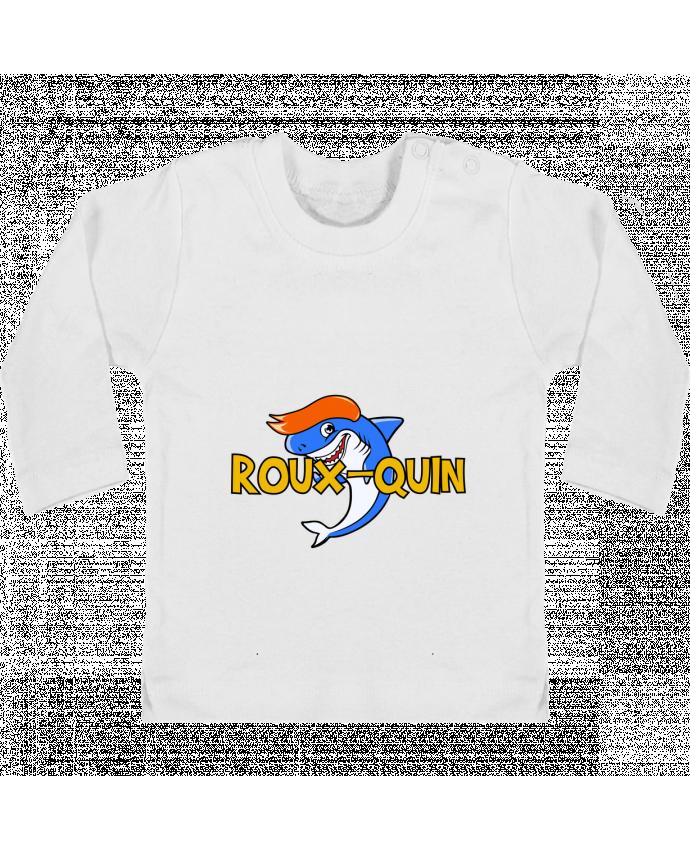 T-shirt Bébé Manches Longues Boutons Pression Roux-quin manches longues du designer tunetoo