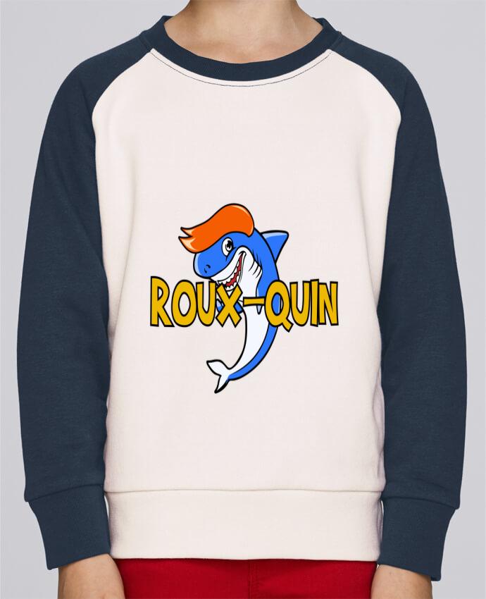 Sweat Shirt Col Rond Enfant Stanley Mini Contrast Roux-quin par tunetoo