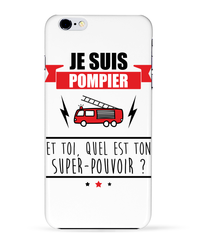 coque iphone 6 plus pompier