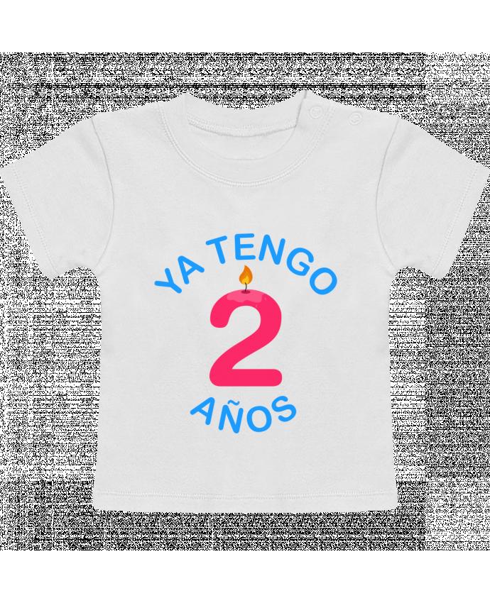 T-Shirt Bébé Manches Courtes Ya Tengo 2 años manches courtes du designer tunetoo