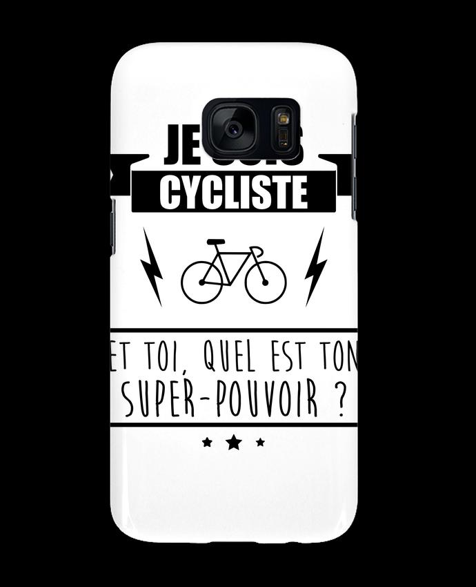 Coque 3D Samsung Galaxy S7 Je suis cycliste et toi, quel est on super-pouvoir ? par Benichan