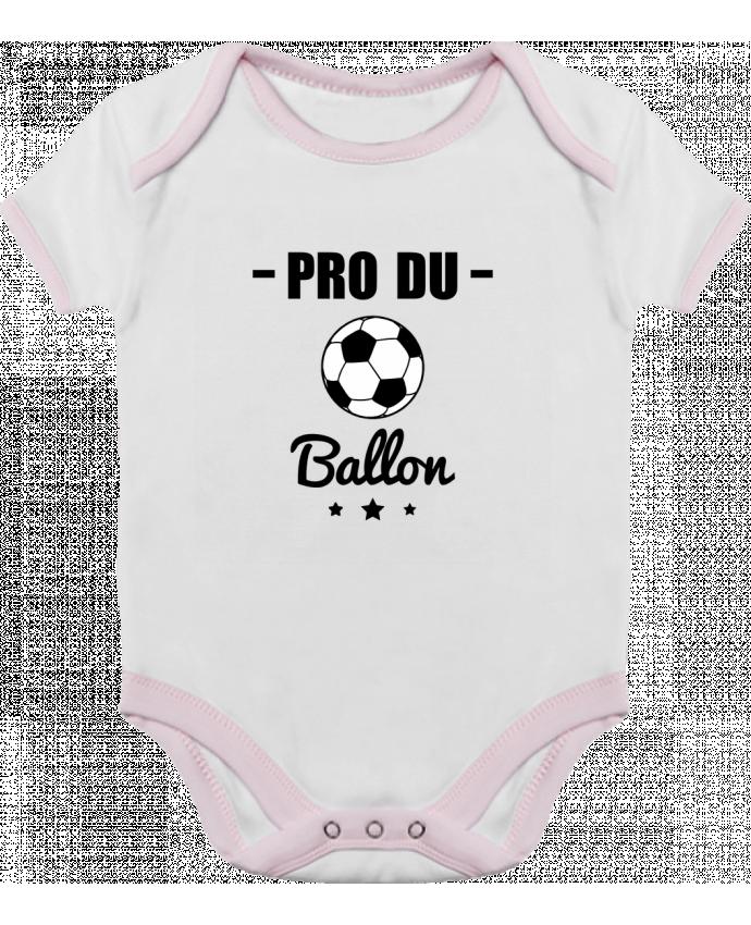 Body Bébé Contrasté Pro du ballon de football par Benichan