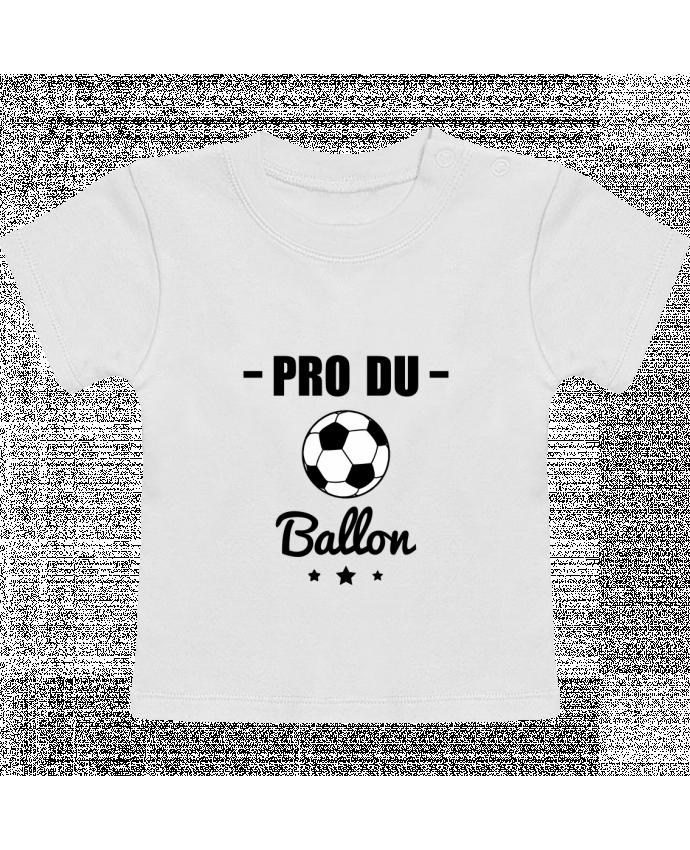 T-Shirt Bébé Manches Courtes Pro du ballon de football manches courtes du designer Benichan
